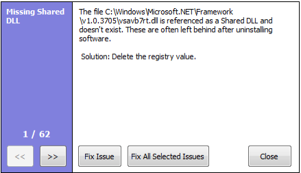 Screen capture of the file deletion box